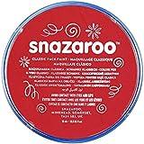 Snazaroo - Pintura facial y corporal, 18 ml, color rojo brillante