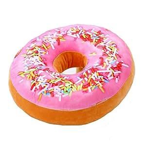 niceEshop(TM) Donuts Form Büro Weich Plüsche Kissen