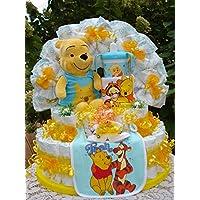 XL WindeltorteAlles Winnie Pooh,Geburt,Taufe,Hochzeit