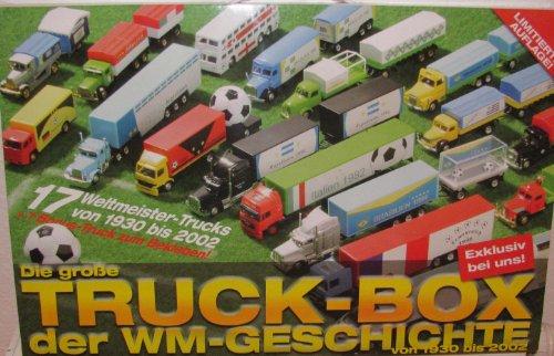 Preisvergleich Produktbild Die grosse Truckbox der WM Geschichte - 18 Trucks in Sammlerbox mit Tragegriff - Von 1930 bis 2002 - Limitierte Auflage