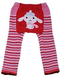 EOZY Bébé Garçon Fille caniche Leggings Collants Jambières chaussettes Animaux Pantalon Pantalons (6–12mois)