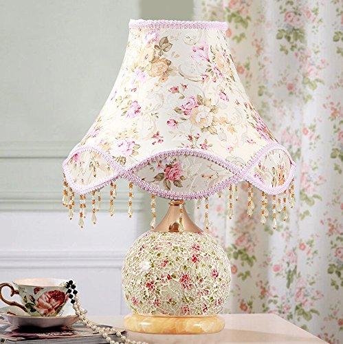 pastoral-estilo-dormitorio-dormitorio-lampara-noche-luz