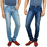 Stylox Pack Of 2 Jeans Lycra Slim Fit