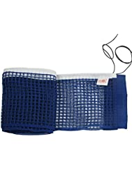 Juego de Red Nylon Azul Oscuro de Ping Pong, Tenis de Mesa - Organizador con Cuerda Retráctil