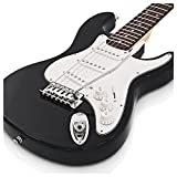 Guitare Électrique 3/4 de LA par Gear4music Noir