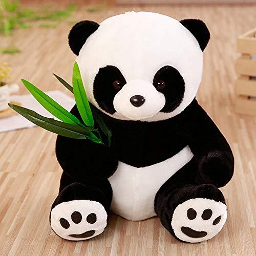 YYYDHW Peluche Panda mère et Enfant Parent-Enfant Ours Peluche Animal Mignon@Panda à Bosse_30cm