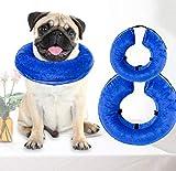 GDDYQ Collare di Protezione dell'animale Domestico Gonfiabile, Disegno Molle e Comodo, Protezione Medica di Bellezza del Anti-graffio,L