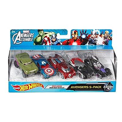 Hot Wheels Marvel Avengers Die-Cast Vehicle (5-Pack) by Hot Wheels