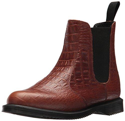 Dr. Martens Damen Flora Chelsea Boots, Braun (Dark Brown 201), 36 EU (Doc Martens Uk)