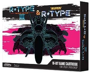 Retro-Bit R-Type Returns pour SNES - Collectors Edition - noir