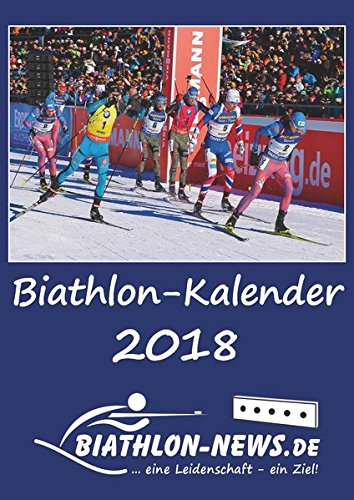 Biathlon-Wandkalender 2018 DIN A4