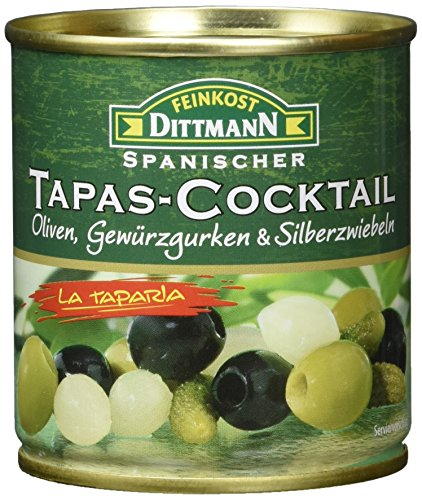 Feinkost Dittmann Tapas Cocktail, 8er Pack (8 x 80 g)