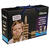 Unbekannt BBlocks BBLO890300 Bausteine Naturholz Stäbe Bauhölzer in Aufbewahrungsbox