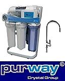 PUR Booster 5 Stufen Direct flow tanklose Umkehrosmoseanlage 400 GPD ohne Tank