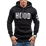 Sweatshirt Homme Cou Rond Impression de café Sweatshirt Manches Longues Pull Tops...