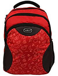 Enrich Light Weight Nylon Water Resistant School/College/ Casual Backpack Bag With 3 Years Warranty