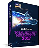 Bitdefender Total Security Multi Device 2017 - 10 Devices, 1 year [Download Licence Key Only] Sent by email