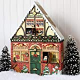 Byers Choice Christmas House Advent Calendar by Byers' Choice