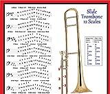 Slide Trombone 12báscula Póster