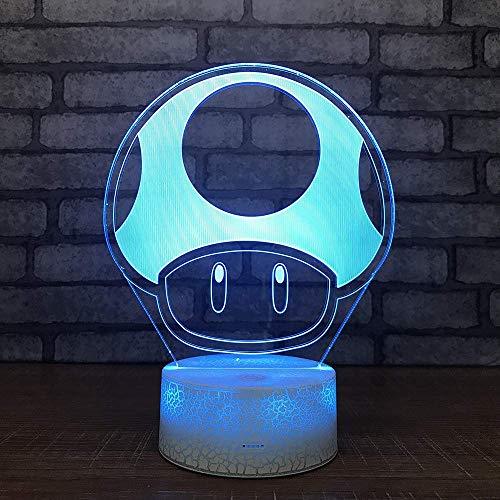 oon Nachttischlampe 3D Neue Seltsame Spielzeug Stall Heißer Verkauf Quelle 3D Leuchten Schlafzimmer Lichter ()