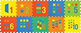 Sunta 12-inch Number/Shape Puzzle Mats, ...