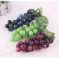 Asien 3pcs decoración Frutas Decorativo de plástico Artificial del Partido del hogar