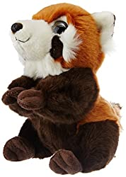Wild Republic Wild Watchers 18cm Panda Plush (Red)