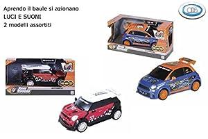 DSO ODS-Fiat 500, Mini Cooper con Luces y Sonidos, vehículos,, 3.ods37622