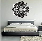 ZBYLL Wall Sticker kreative Mandala Muster Wohnzimmer Schlafzimmer schöne Wand Aufkleber