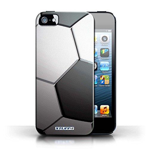 Hülle für Apple iPhone 5/5S / Basketball / Sport Bälle/Ball Kollektion Fußball