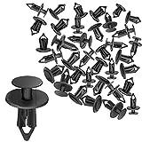 CNIKESIN NO.21 50Pcs Nylon Bumper Fastener Rivet Clips 8Mm Automotive Furniture Assembly Viti di espansione Kit Auto Body Clips