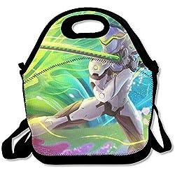 Overwatch OW Genji Lunch Bag Tote Handbag