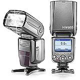 Neewer® NW-985N i-TTL Pantalla de 4-Color TFT LCD * Sincronización de Alta Velocidad * Cámara de flash Esclavo Speedlite con Difusor de Flash Para Nikon D50 D60 D70 D3S D70S D80 D80S D200 D300 D300S D700 D3100 D3000 D7000 D5100 D5000 and Todos Los Otros Nikon DSLR Cámaras