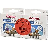 Hama Fotoecken (selbstklebend, praktische Spenderbox, säurefrei, lösemittelfrei, geeignet für Alben, archivierungssicher) 1000 Stück, transparent