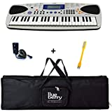 Sports Hub 1448 MA-150 Mini keyboard with Blueberry RED Bag & Adapter along with USB LED By Sports Hub 1448