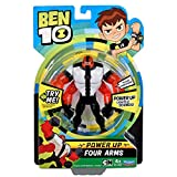 Ben 10 - Statuette Deluxe Luce e Suoni, Power Up Four Arms, Multicolore, Giochi ben24320