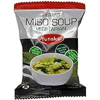 Yutaka Instant Miso Soup Vegetarian 7.5 g (Pack of 10)