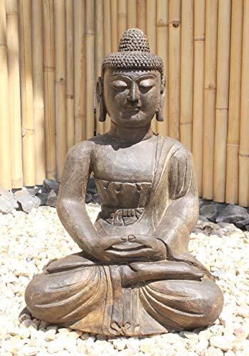 Asien Lifestyle Jardín Estatua Buda Amitabha 62cm