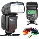 Viltrox JY-680CH Caméra Haute Vitesse Sync E-TTL Flash Speedlite pour Canon EOS 7D II 5D MARK III 6D 7D 70D 60D 50DT3I T2I T6i 5D2