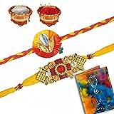 Shree Sai Traditional Beautiful Set Of 2 Mauli Rakhis For Men-BRD2202