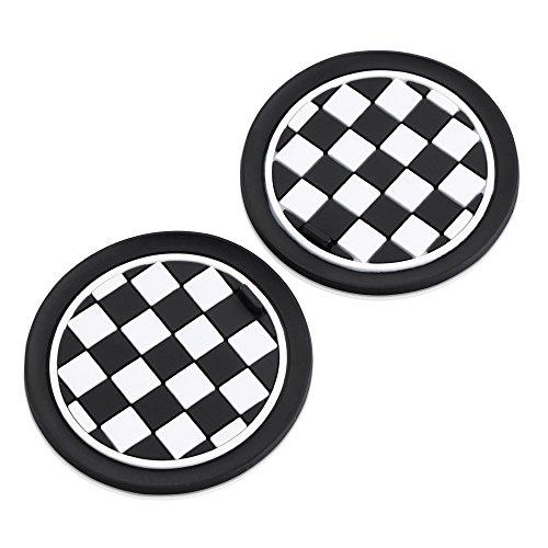 73-millimetri-nero-bianco-checkered-modello-morbido-silicone-coppa-holder-coasterspour-per-proprieta