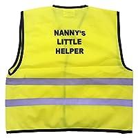 Kids High Visibility Hi Viz Safety Vest NANNY