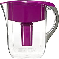 Brita Grand Water Filter Pitcher, Violet, 10 Cup by Brita