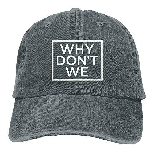 f05467af2cf25 TEPEED Why Don t We Unisex Adult Adjustable Trucker Dad Hats