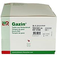 Gazin Tupfer Pflaumengroß Steril 2+3 Schutzrand, 125 St preisvergleich bei billige-tabletten.eu