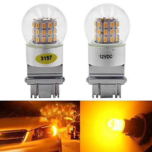 2-pack-3157-3047-3057a-extremely-bright-amber-yellow-led-light12v-dc-amazenar-3014-chipset-39-smd-31