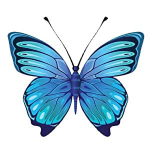stickers pour voiture blue butterfly
