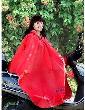 Juleya 2017 Bambino bambini pioggia Poncho con cappuccio Poncho 80-130cm formato impermeabile