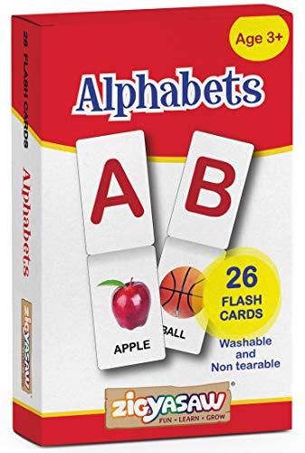 Zigyasaw English Alphabets Flash Cards