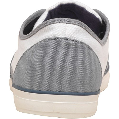 Blanc/Gris JACK AND JONES Chaussures en Toile Harvard Homme Blanc Blanc/Gris